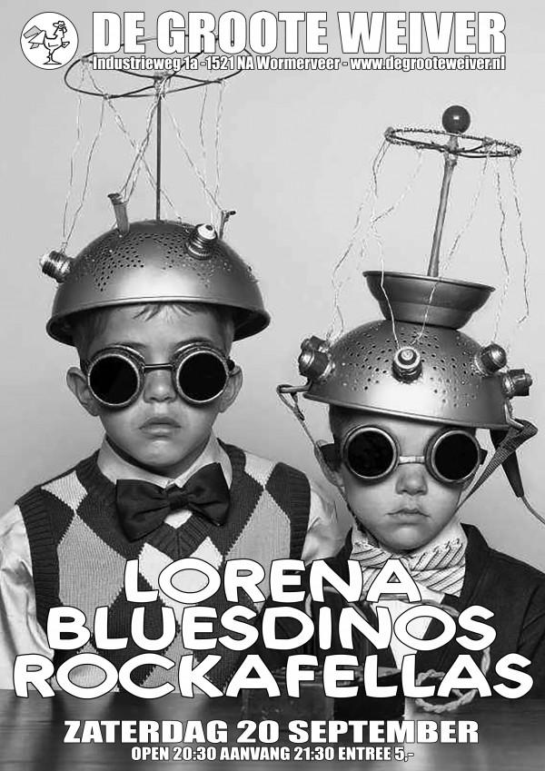 Blues Dinos + Lorena + Rockafellas