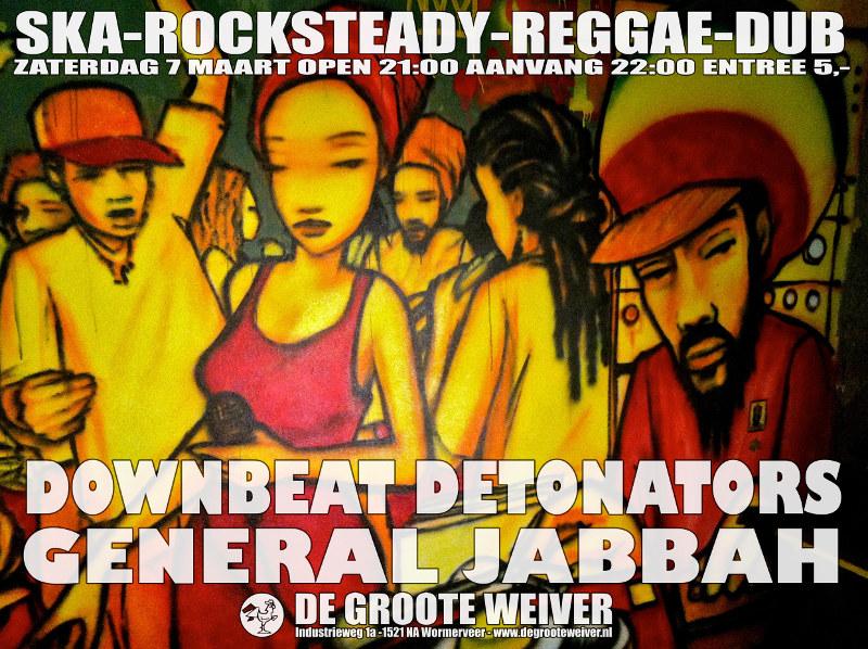 General Jabbah en The Downbeat Detonators