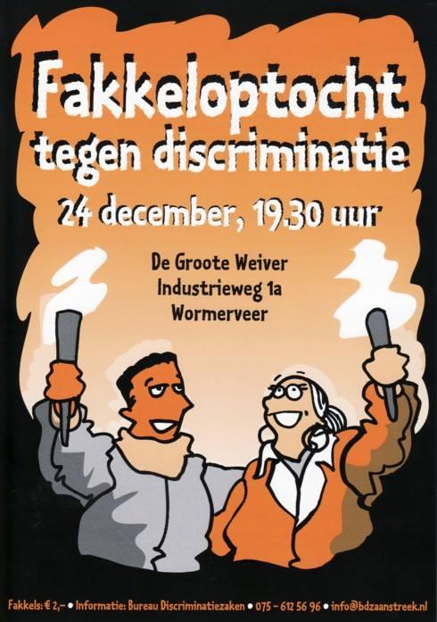 29e Fakkeloptocht tegen discriminatie