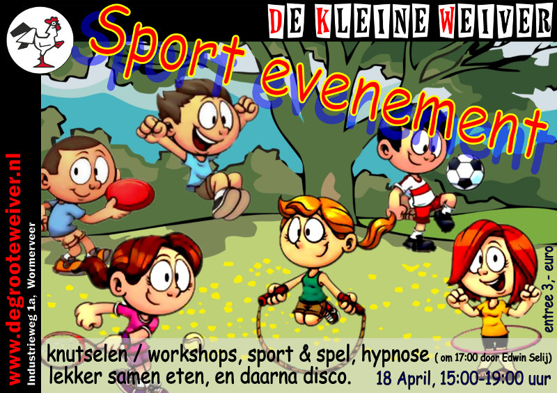 De Kleine Weiver - Sportevenement