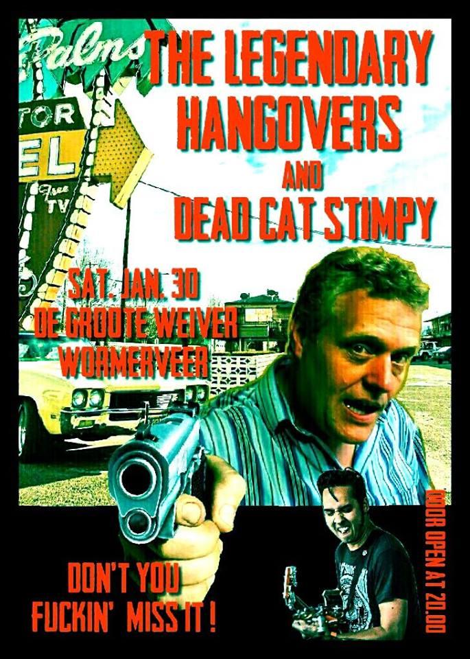 The Hangovers + Dead Cat Stimpy