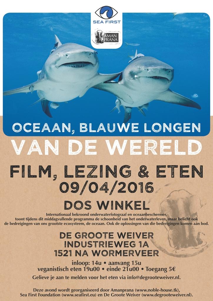 De Groote Zee: Film, lezing & eten met Dos Winkel