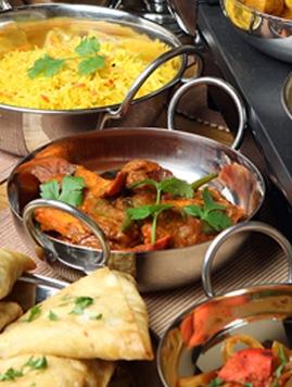Buurtmaaltijd: Indian food