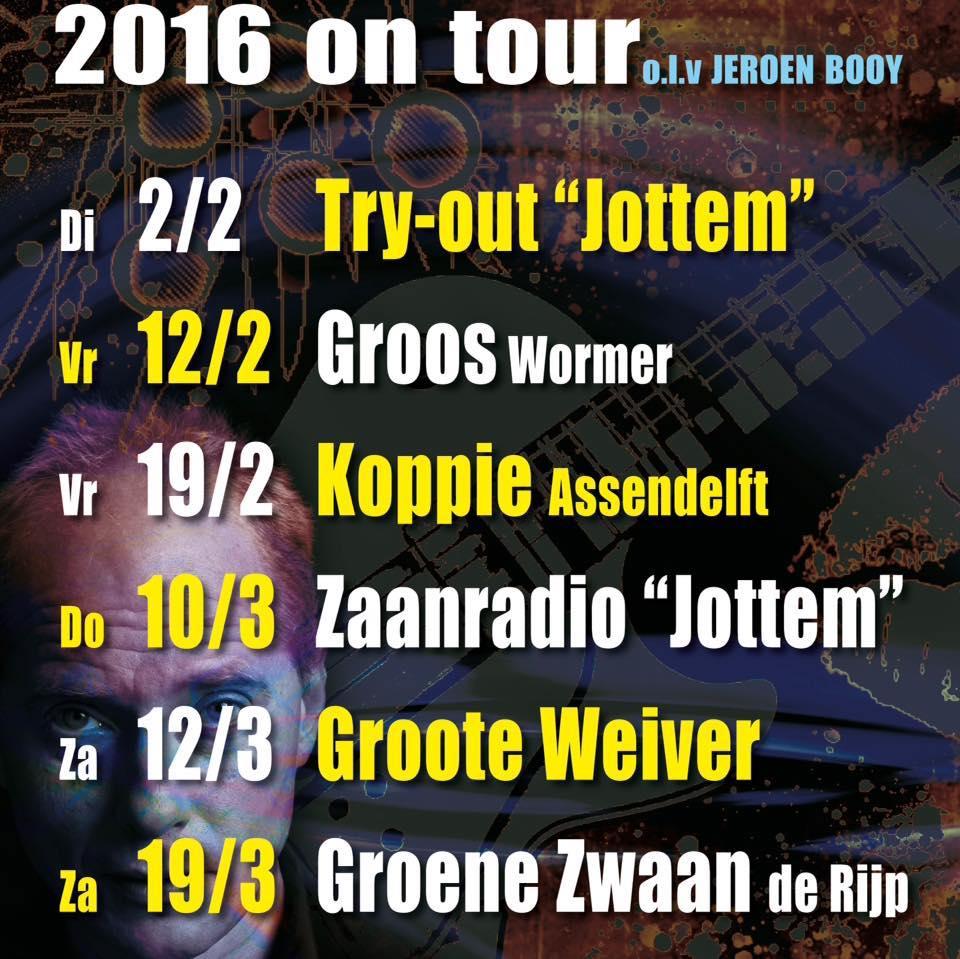 Muziek Workshop 2016 on tour