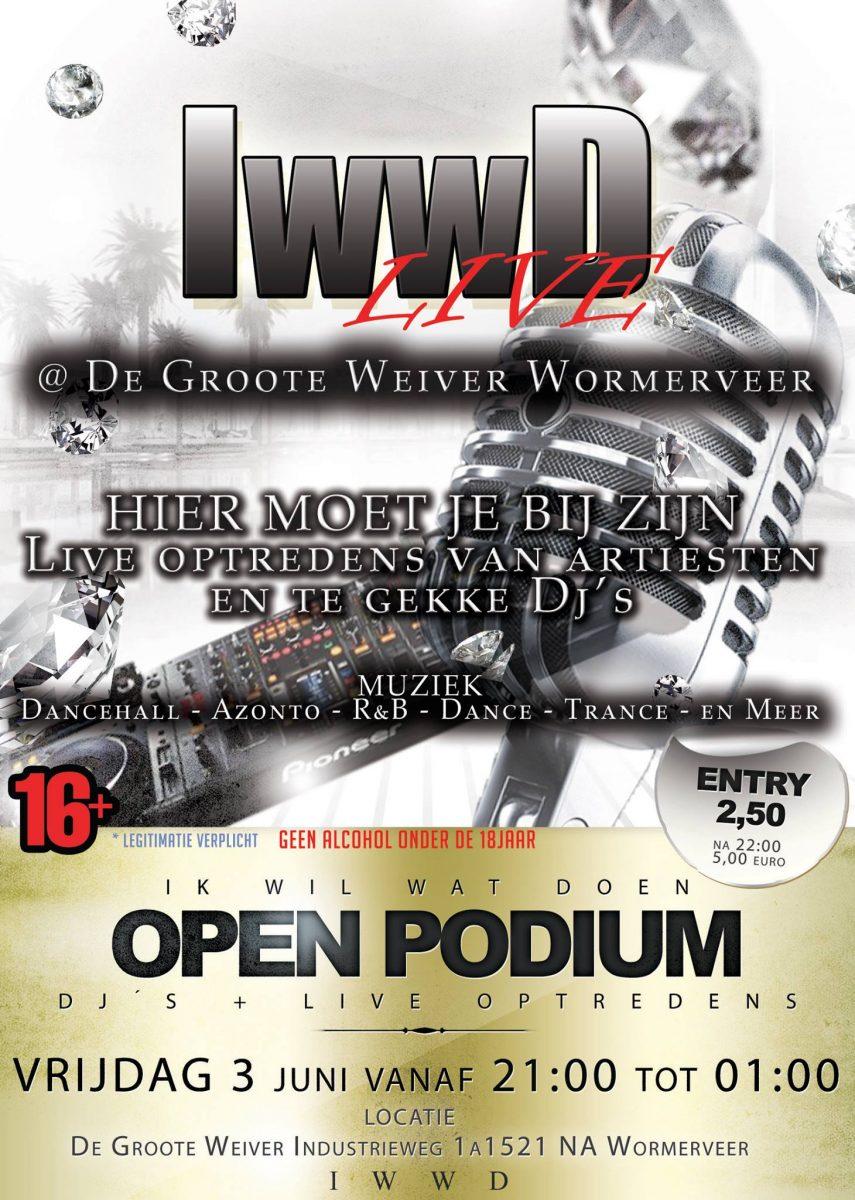 Open podium: IWWD Live!