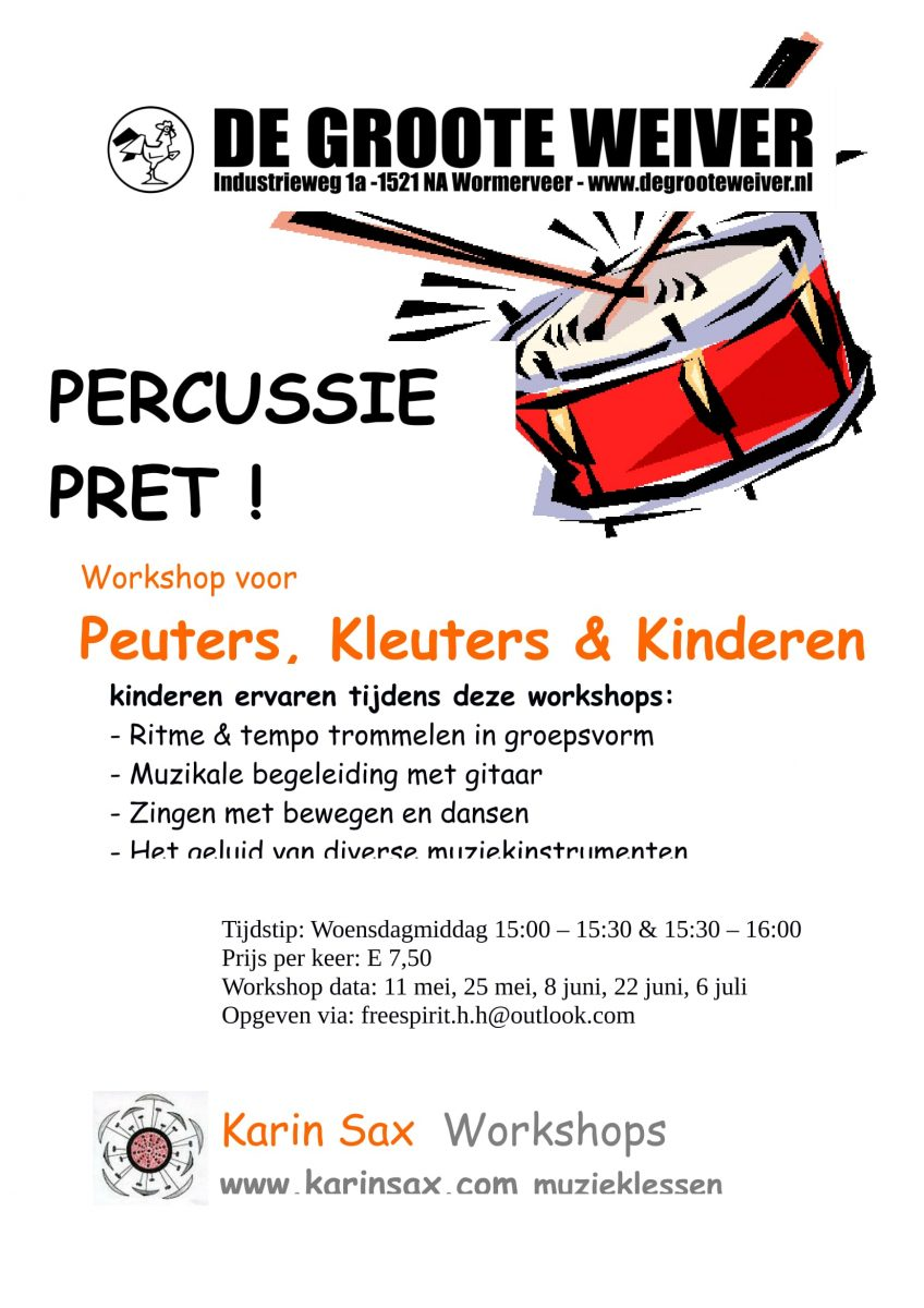 Percussie Pret!