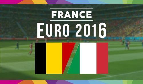 EK: België - Italië