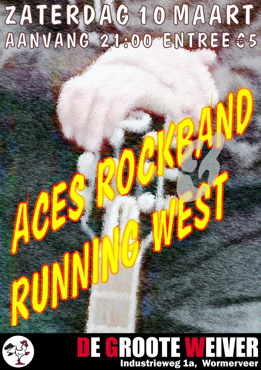 Aces rockband en Running West