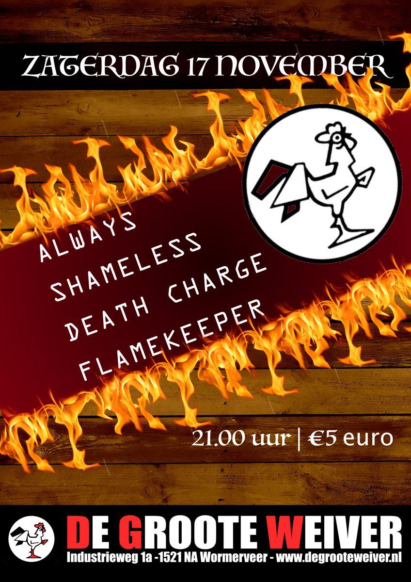 Always - Shameless - Death Charge - Flamekeeper