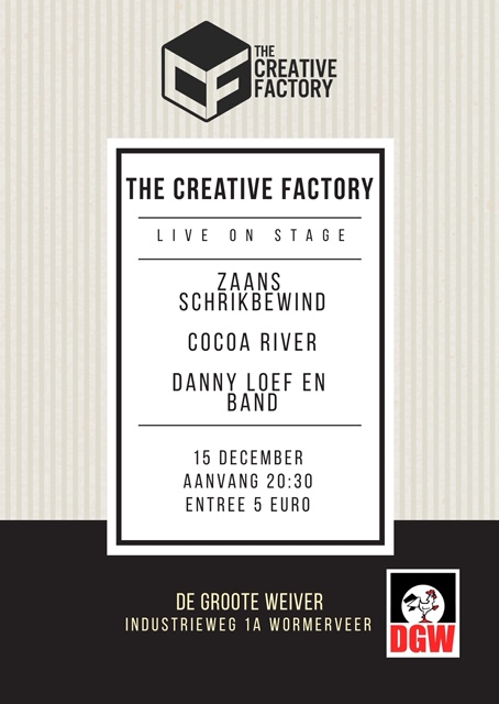 Creative Factory live on stage