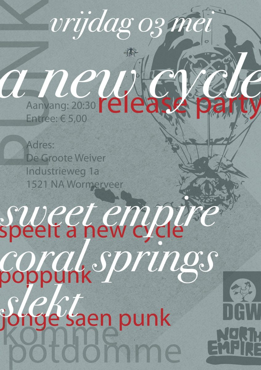 Sweet Empire (release show), Coral Springs, and more