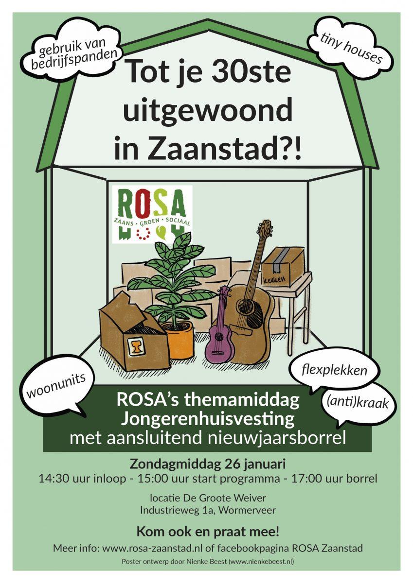 Tot je 30ste uitgewoond in Zaanstad?!