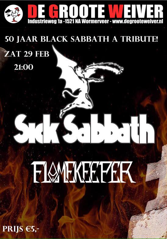 50 jaar Black Sabbath a tribute!
